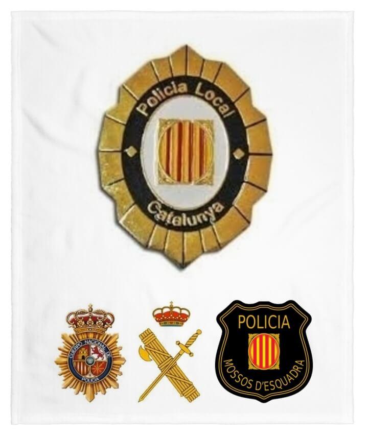 funciones policia local en españa escudos