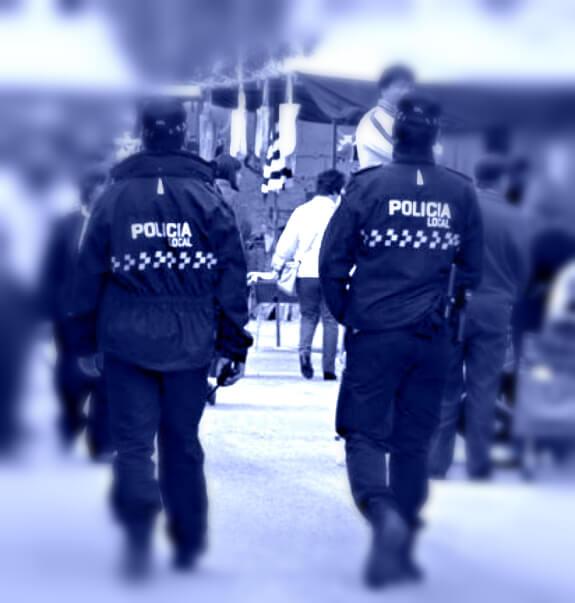 policía local supera prácticas