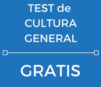 TEST de Cultura General de las oposiciones a Policía Local y Guardia Urbana.