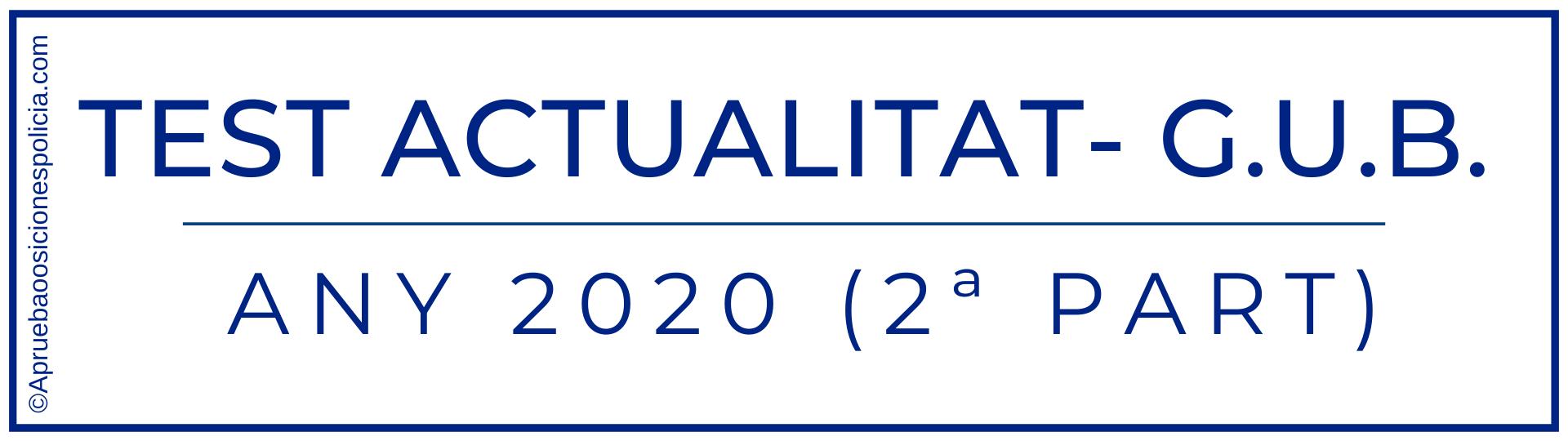 Test actualidad Gub 2020