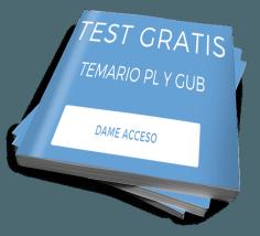 test de temario gratis