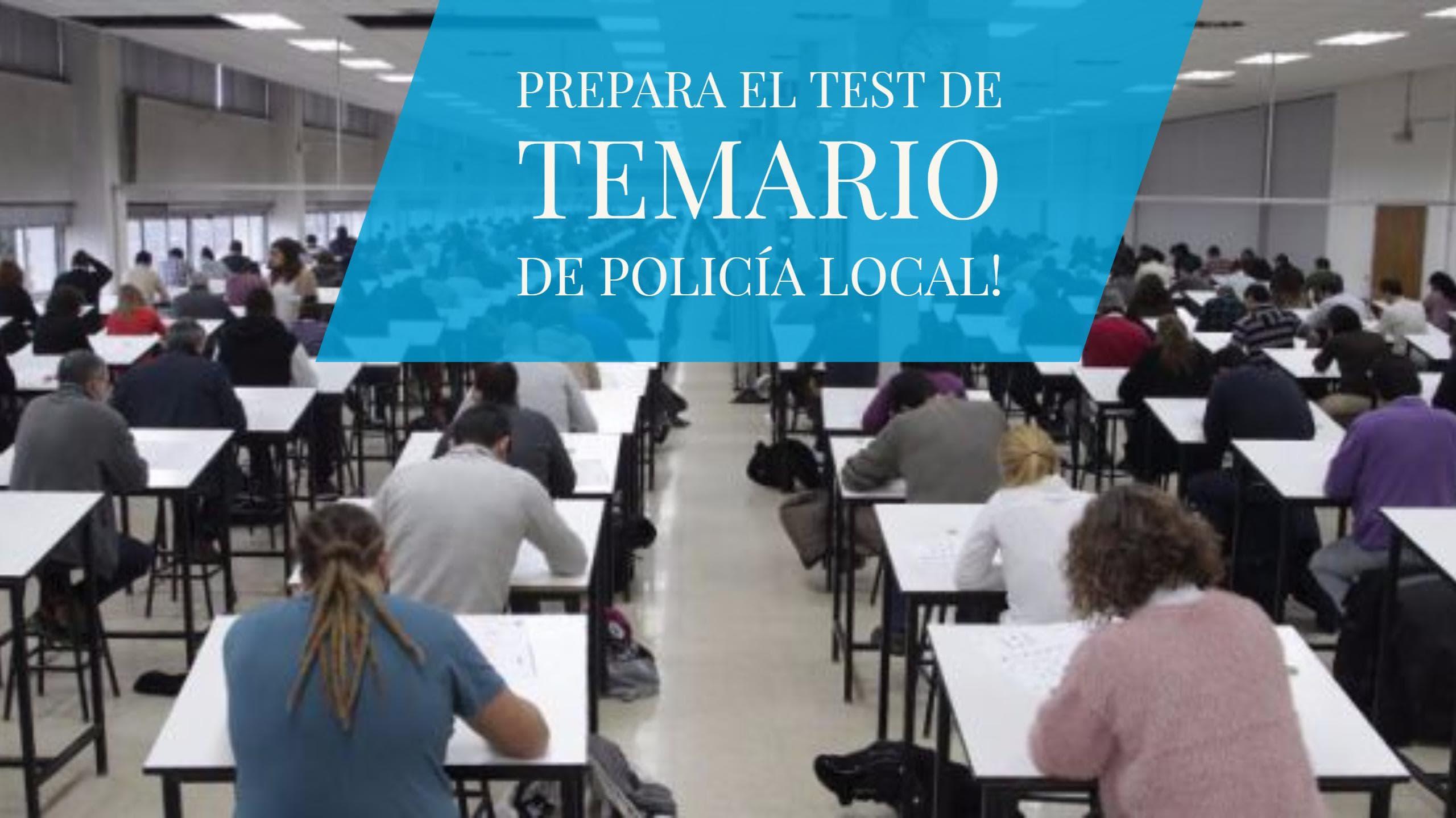 temario-oposiciones-policia-local